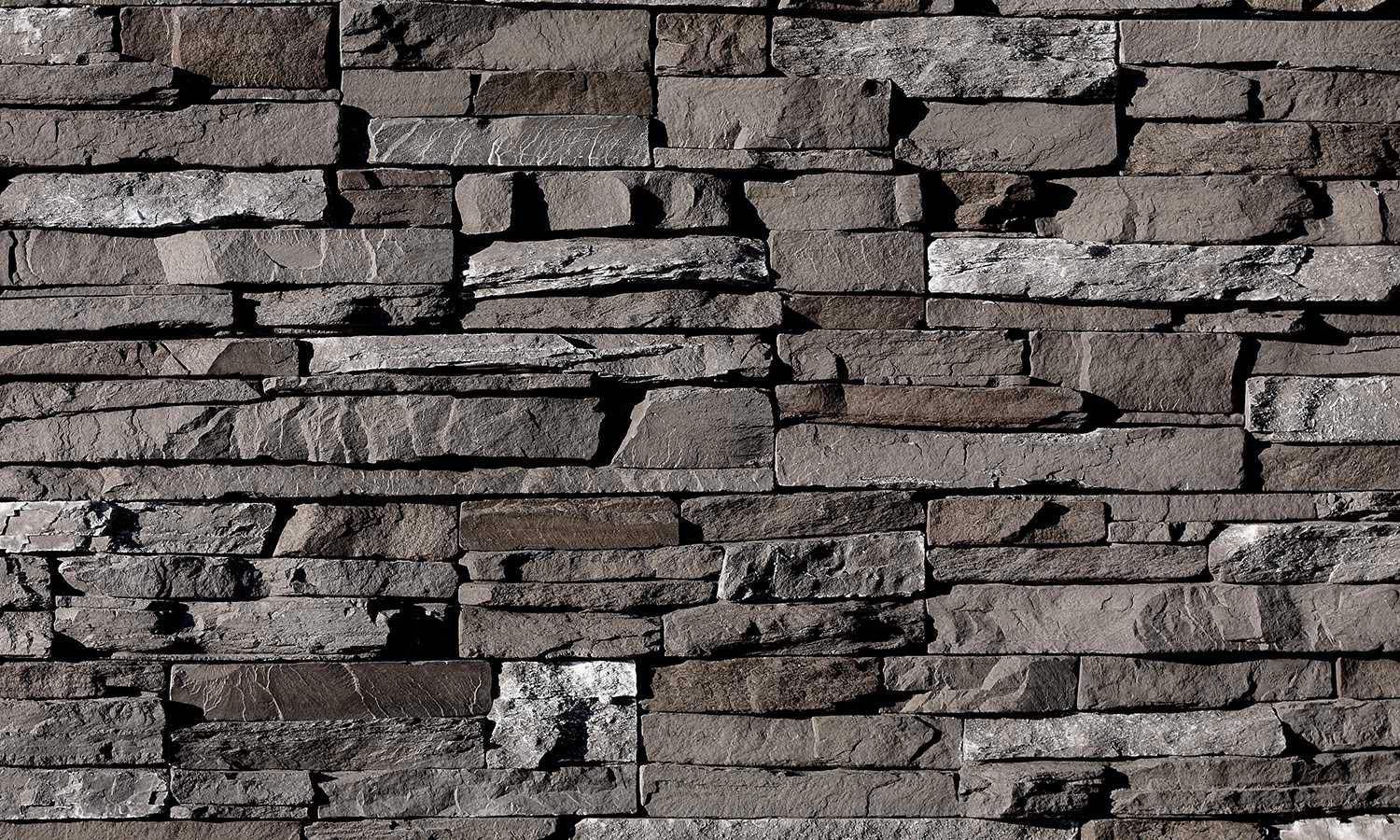 Stacked stone dark rundle ecostone products for Stacked stone house