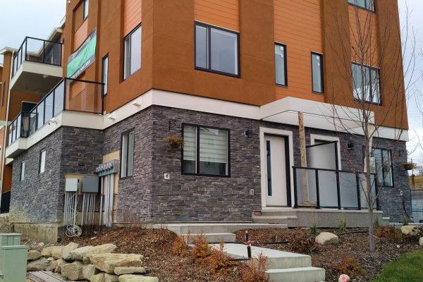 Condo building exterior – Glacial Myst
