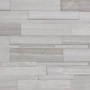 ECOnatural - Strips-Grey Wooden Marble